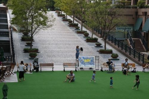 子どもたちの遊び場