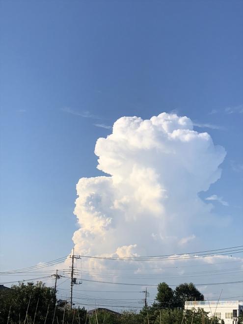 綺麗な積乱雲