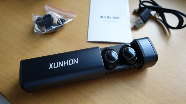 XUNHON  完全 ワイヤレス イヤホン Bluetooth イヤホン