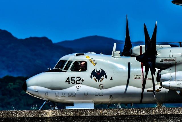 空のじゃじゃ馬E-2Cホークアイ452