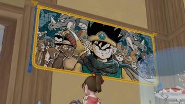 壁掛けDQ3の絵