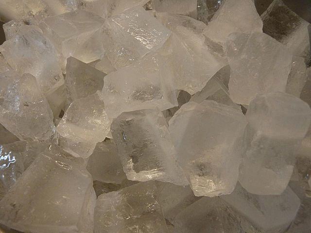 一夢庵の氷
