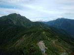 天神峠から谷川岳