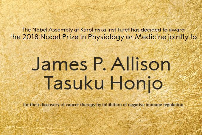 ノーベル医学・生理学賞に京都大学特別教授の本庶佑氏 … 免疫の働きを抑えるブレーキ役となる物質を発見、抗癌剤「オプジーボ」の創薬を牽引