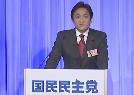 国民民主党の玉木雄一郎共同代表「少子化対策として3人目を出産した家庭に1000万円を給付する『コドモノミクス』で野党連立政権を打ち立てたい」