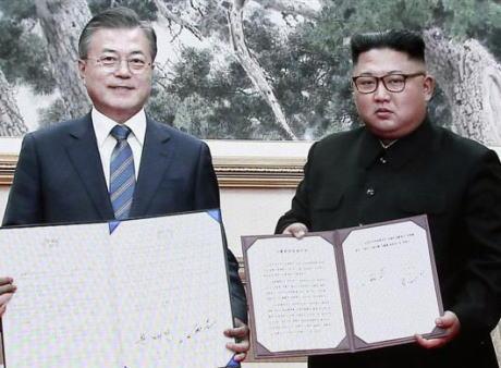 板門店宣言 北朝鮮 韓国 文在寅 金正恩 南北首脳会談