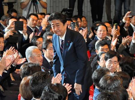 自民党 総裁選 安倍首相 朝日新聞