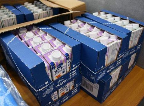 液体ミルク 備蓄 北海道 北海道地震 役所