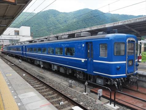 14系客車 スハフ14形【鬼怒川温泉駅】
