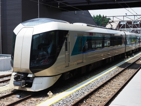 東武鉄道 500系 特急リバティ【下今市駅】