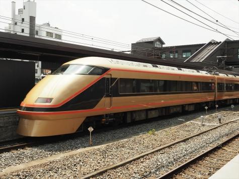 東武鉄道 100系 特急スペーシアきぬがわ3号【下今市駅】