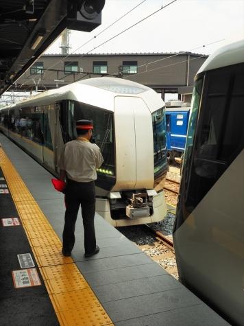 東武鉄道 500系 特急リバティけごん28号・リバティ会津128号【下今市駅】