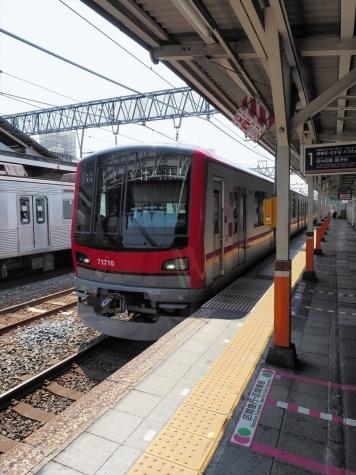 東武鉄道 70000系 電車【春日部駅】