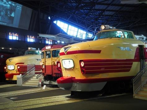 クハ181&クモハ455&クハ481【鉄道博物館】