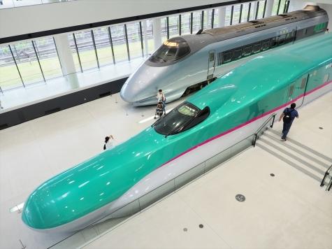 新幹線E5系&400系 電車【鉄道博物館】