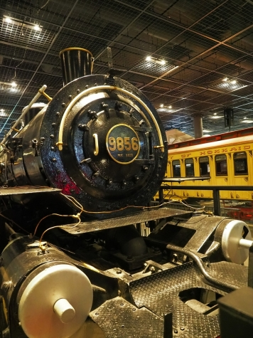 蒸気機関車 9850形 9856【鉄道博物館】