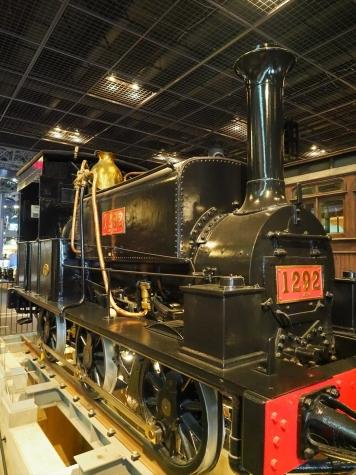蒸気機関車 1290形 善光号【鉄道博物館】