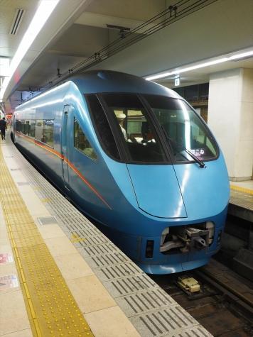 小田急電鉄 60000形 MSE車【新宿駅】