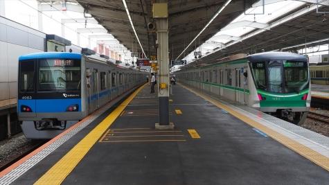 小田急電鉄 4000形&東京メトロ 16000系【代々木上原駅】