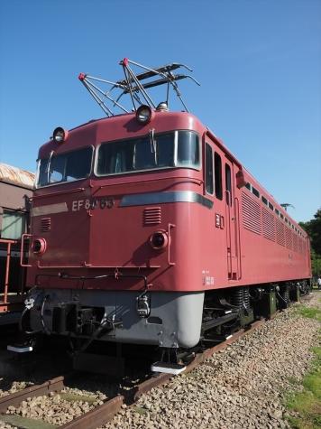 交直流電気機関車 EF80 63【碓氷鉄道文化むら】