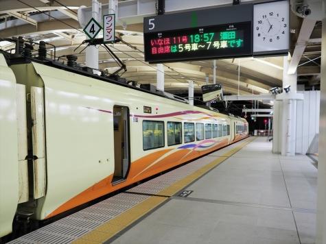 nKアーカイブ 2018年9月 JR東日本 E653系1000番台 特急いなほ11号 ...