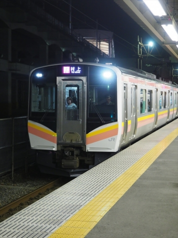 JR 白新・羽越線 E129系 電車【新潟駅】