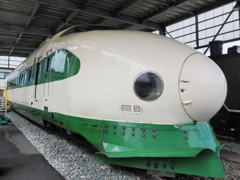新幹線 200系 電車【新潟市新津鉄道資料館】