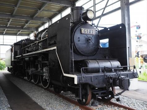 蒸気機関車 C57形19号機【新潟市新津鉄道資料館】