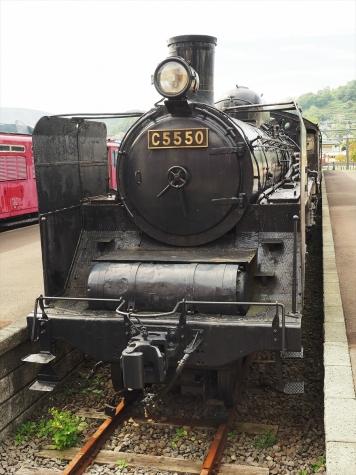 蒸気機関車C55 50【小樽市総合博物館】