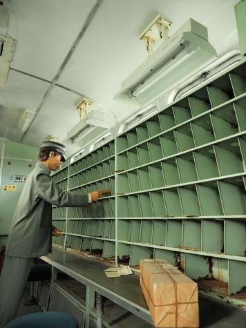 50系客車 スユニ50形 郵便荷物車【小樽市総合博物館