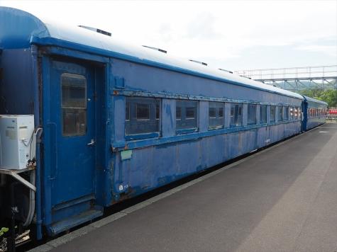 オハ35系客車 オハ36形 三等客車【小樽市総合博物館】