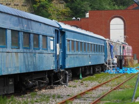 オハ35系客車 オハ36形&オハフ33形【小樽市総合博物館】