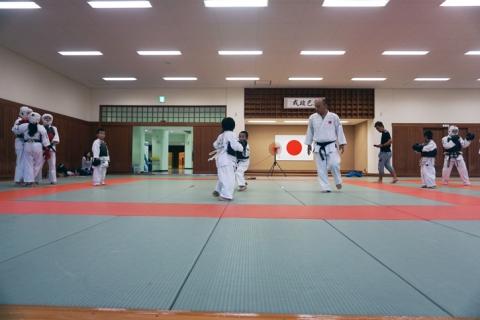 大型で非常に強い台風24号(チャーミー)愛媛県連盟強化練習(9月-2)