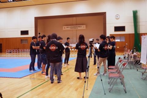 2018日本拳法愛媛県大会ウォーミングアップ by 今治拳友会