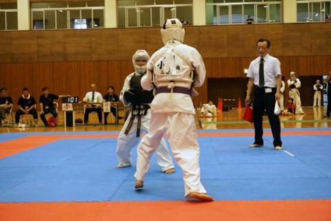 2018日本拳法愛媛県大会ファイナルステージ第一部(少年部門決勝戦)