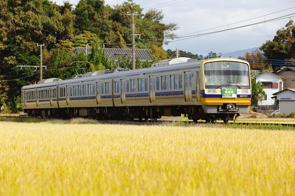181008_駿豆線絵画展電車7000系