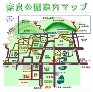 奈良公園マップ