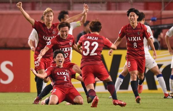 Uchida goal Kashima antlers Suwon Samsung 3-2