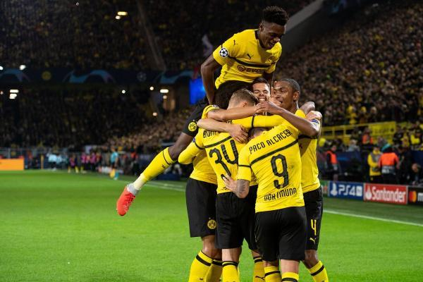 Borussia Dortmund 3 - 0 AS Monaco UEFA Champions League