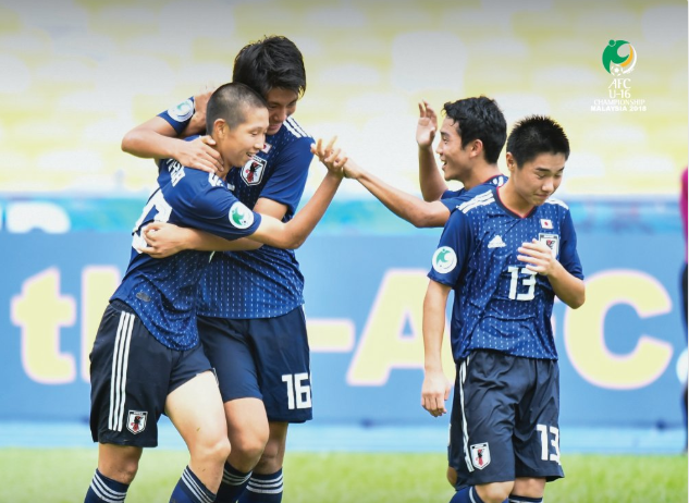 Japan are in the #AFCU16 final 2018
