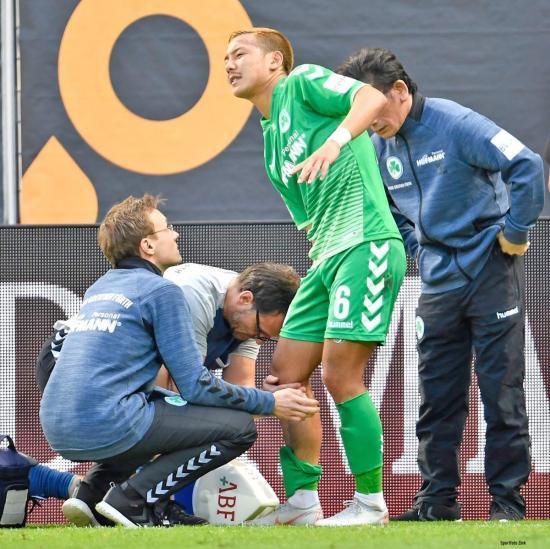 Yosuke Ideguchi suffers torn posterior cruciate ligament
