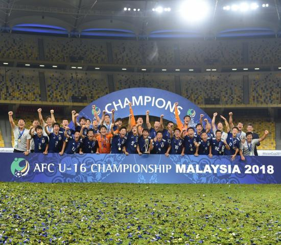 AFCU16 2018 champions Japan