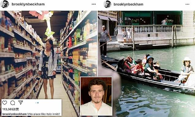 Brooklyn Beckham is accused of RACISM by furious Chinese people