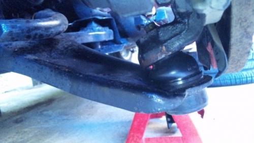 ブーツ交換 (2)