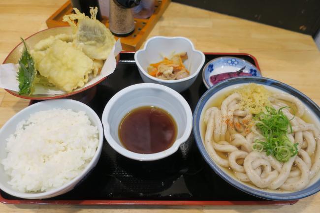 鱧の天ぷら定食