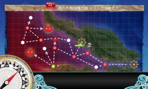 艦これ 2018年初秋イベント E-2 後半 MAP