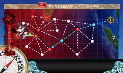艦これ 2018年初秋イベント E-3 第2ゲージ MAP
