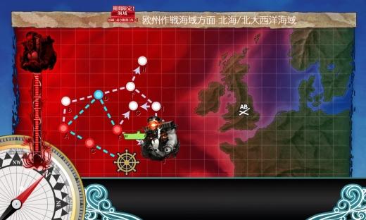 艦これ 2018年初秋イベント E-5-1 map
