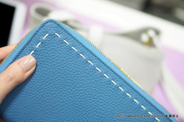 nagatani(ナガタニ)のシュリンクレザー財布 SAHO