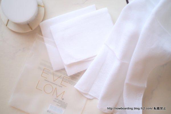 Eve Lom クレンジングクロス LOOKFANTASTIC日本語訳ブログ